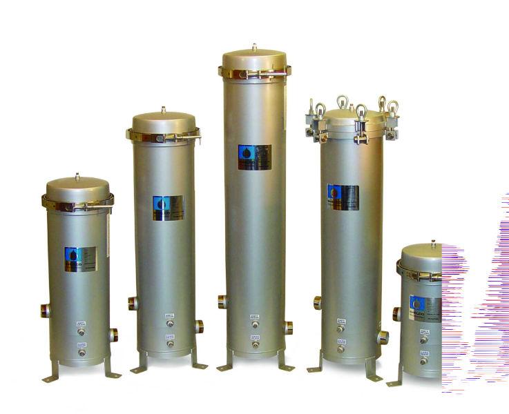 Industrial Inox Cartridge Filter Housings
