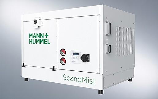Mann Hummel ScandMist - oil extraction for clean and safe workshop envoroments