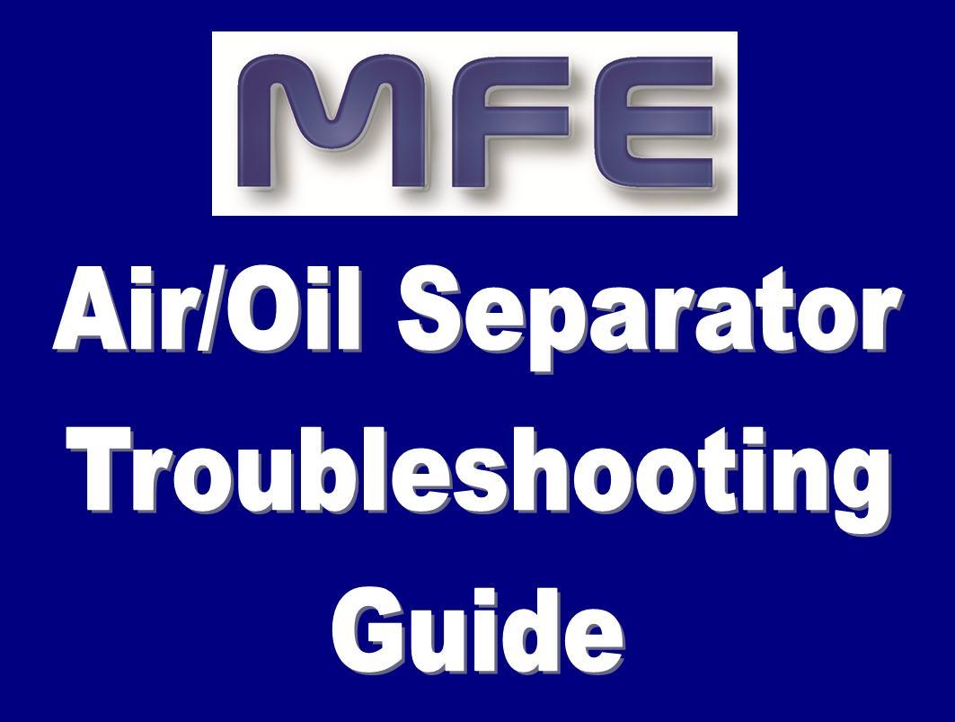 Separator Trouble shooting