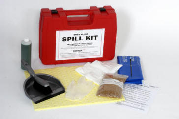 Small Spill Kits Body Fluid And Mercury