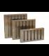 Labyrinth Baffle 595 x 595 x 45