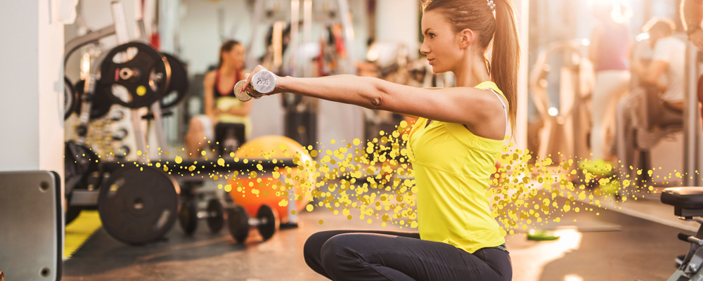 Gym clean air