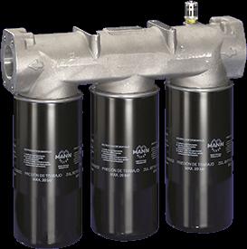 triple oil filter