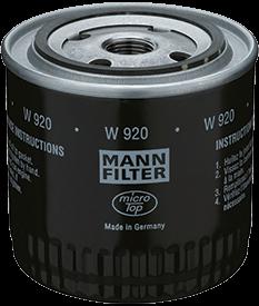 w920 oil filter