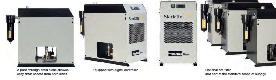 Starlette-Plus-E features