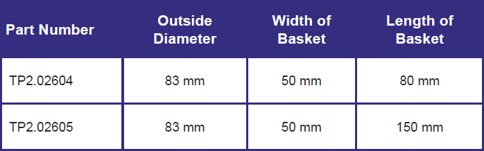tp2 size chart